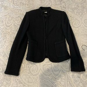 Jcrew fall / winter Tweed Black skirt suit